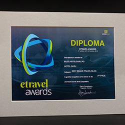 Etravel Awards 2016