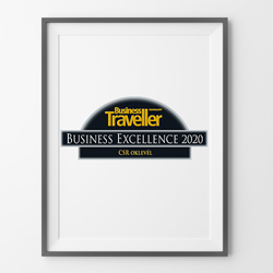Business Excellence 2020 - CSR oklevél